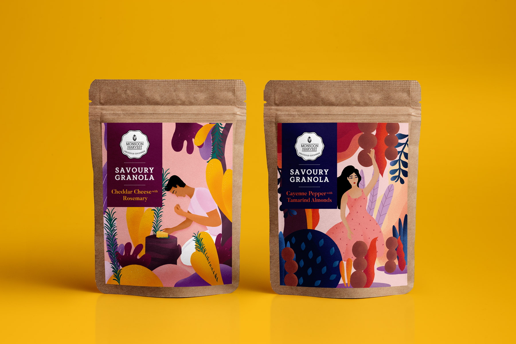 Snacking Granola Packaging